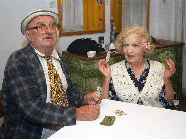 Blanka Bohdanová a Josef Somr.