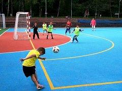 V Chomutově v areálu na Cihlářské se hrál první turnaj Pouliční ligy