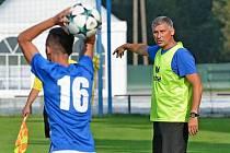 Trenér Ivan Filip.
