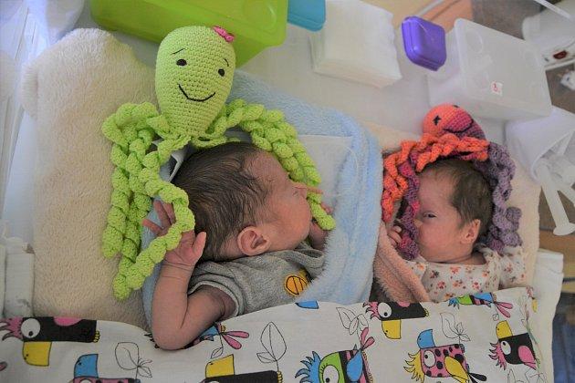 Háčkovaná hračka pomáhá předčasně narozeným dětem.