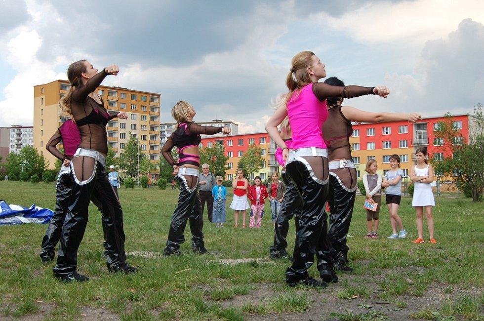 Taneční vystoupení skupiny Reflex.