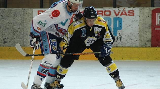 Snímky ze zápasu SK Kadaň s KLH Chomutov.