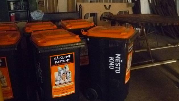 V přilehlých obcích a ve městě přibudou nádoby na tetrapacky.