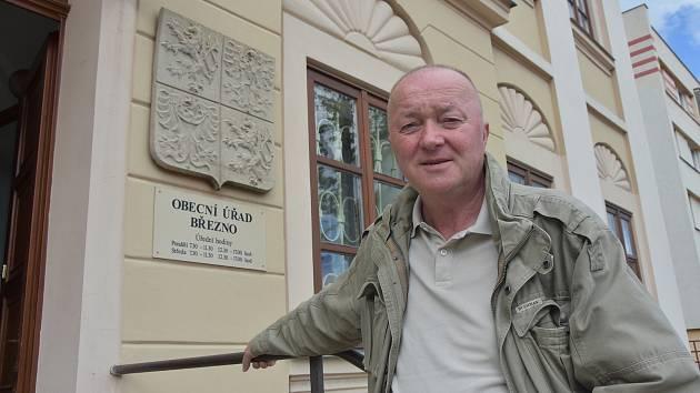 Starosta Března Zdeněk Valenta.