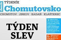 Dnes vychází nový Týdeník Chomutovsko