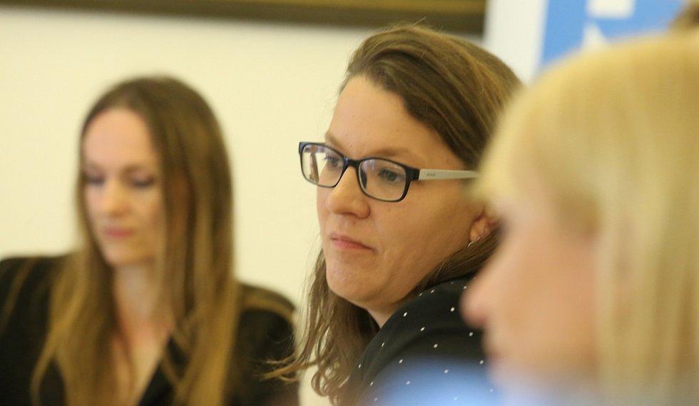 Anna Dumont z Ministerstva práce a sociálních věcí ČR.