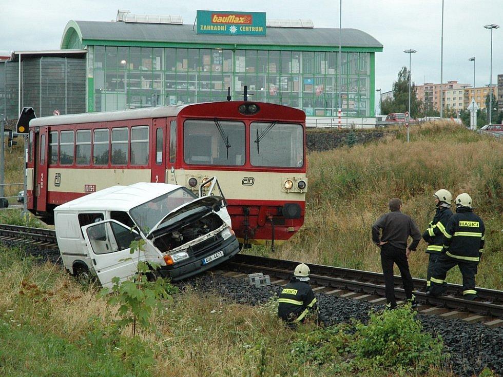 Kolize s tranzitem z léta 2008.