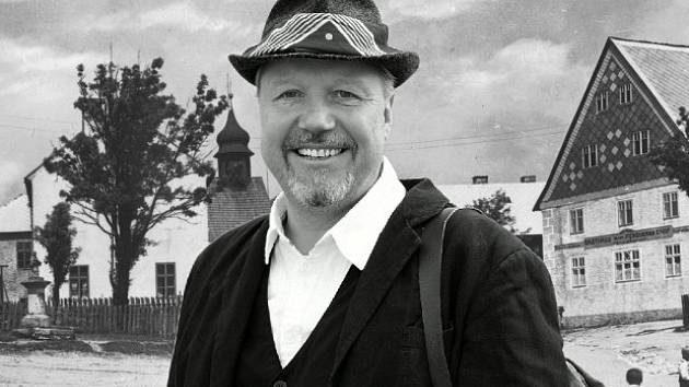 Thomas Lang, velký znalec Krušnohoří, přezdívaný Böhmer Langi