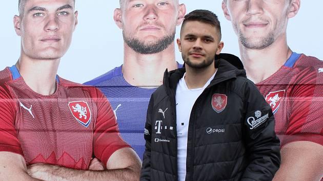Český reprezentant do 21 let Patrik Žitný, který na klubové úrovni hraje za prvoligové Teplice.