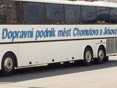 Dopravní podnik měst Chomutova a Jirkova.