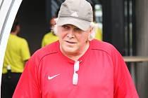 Trenér Pavel Chaloupka.