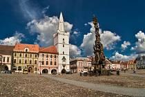 Mírové náměstí v Kadani