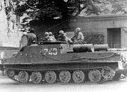 Snímky ze srpna 1968 na Chomutovsku.
