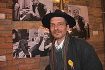 V pátek 17. září začíná Chomutovský výtvarný salon. Jedním z vystavujících je Josef Šporgy.