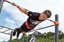 Jura Sasyn, který se specializuje na freestyle a má úspěchy i na světových mistrovstvích.