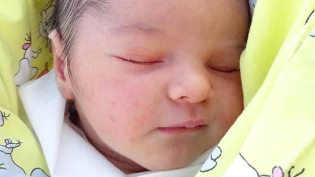 Matyáš Marhold se narodil 4.2. v 8:02. Vážil 3600g a měřil 51cm. Rodiče Nekolová Veronika a Jakub Marhold ze Žatce z něho mají radost. foto: monika kubicová