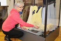 Dagmar Knížetová si výstavu nadělila k životnímu jubileu.