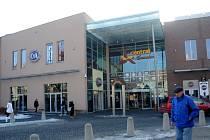 Obchodní dům Central v Chomutově. Ilustrační foto.