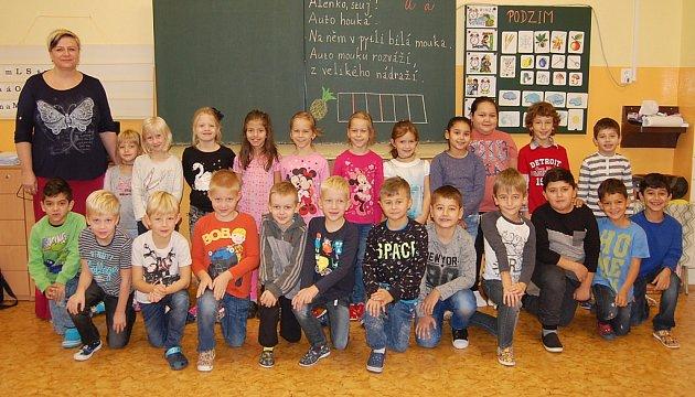 Žáci 1.B ZŠ Březenecká vChomutově paní učitelky Petry Radimské