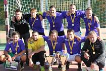 Vítězný tým Sport Bar Galaxie Chomutov.