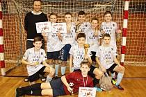Vítězství v Žákovské lize mladších žáků obhájil tým ze ZŠ Na Příkopech.