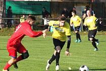 SK Ervěnice-Jirkov - SK Strupčice 0:0, PK 2:4, domácí ve žlutém.
