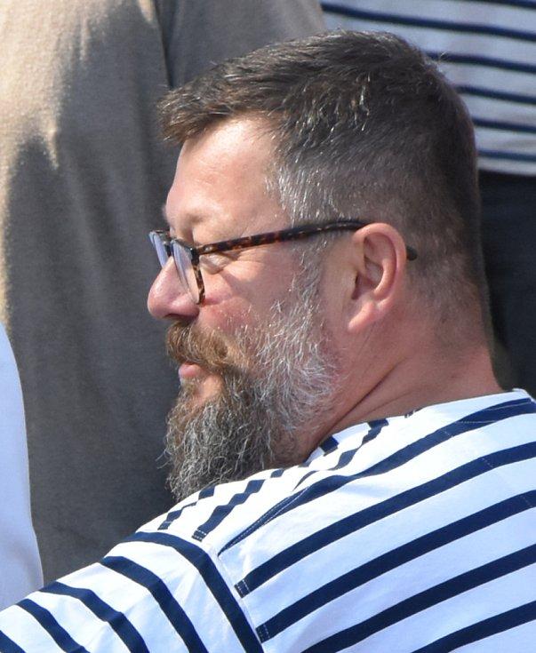 Zdeněk Bergman, majitel společnosti Pražské benátky, která dílo financuje.