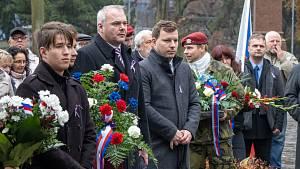 Připomínka 17. listopadu v Chomutově