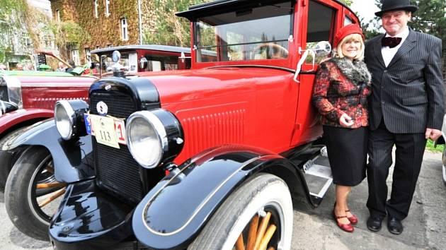 V Chomutově se konal už 21 sraz historických vozidel