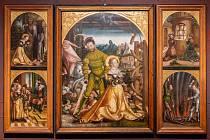 Výstava Krušnohoří/Erzgebirge - Umění pozdního středověku je k vidění do 29. května v budově starobylé radnice.