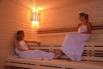 Nová sauna v Chomutově