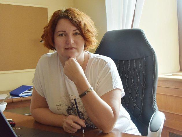 Ředitelka jirkovského KVIZu Michaela Brožová.