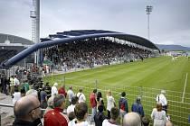 Nový fotbalový stadion Chomutov