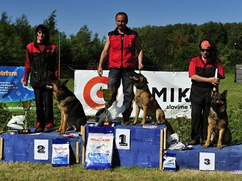 Vítězové v jednotlivých kategoriích.