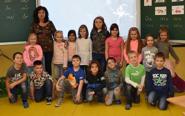 Žáci 1.C ze ZŠ Školní vChomutově paní učitelky Soni Gálové.