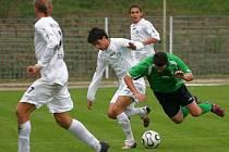 Utkání FC Chomutov s FK SIAD Most.