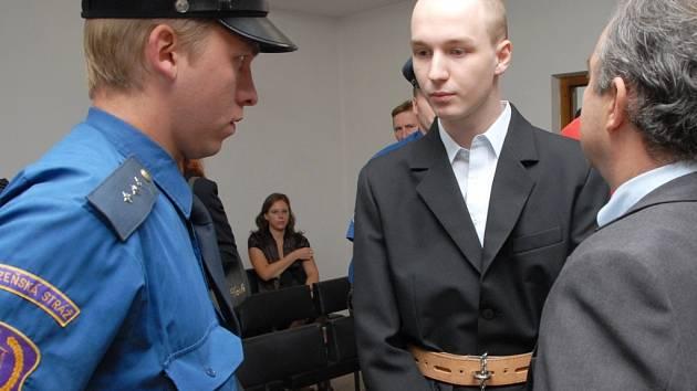 Ústí nad Labem,Krajský soud,obžalovaní z vraždy Ondřej Roth a Ladislav Štrob
