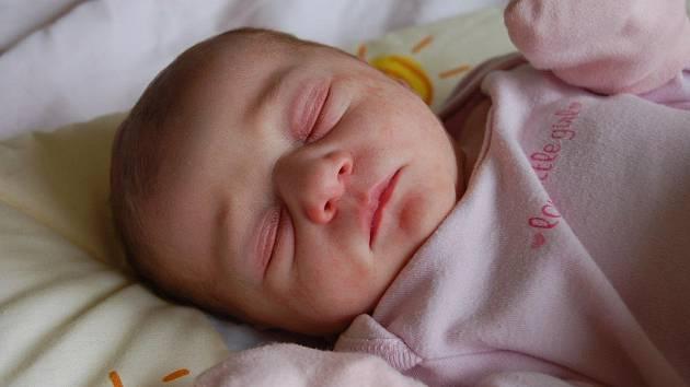 Malá Viktorie Sojčíková se narodila Heleně Goralové v Chomutově dne 2. května v 6:10 hodin. Holčička měřila 48 cm a vážila 2.850 kg.