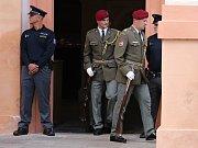 Pohřeb Martina Marcina v Chomutově. Vojáka na misi v Afghánistánu zabil sebevražedný atentátník.