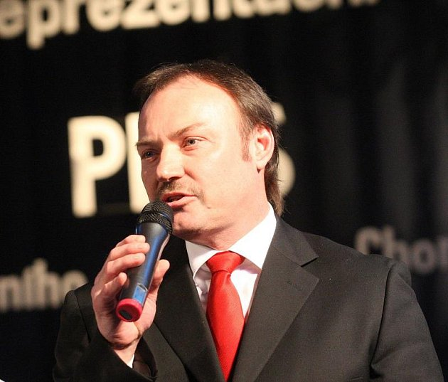 Pirmátor Jan Mareš.