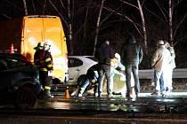 Smrtelná dopravní nehoda v Chomutově