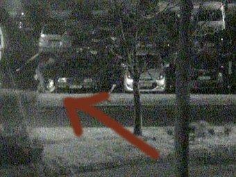 Zloděje na parkovišti zaregistrovala jedna z kamer městské policie.