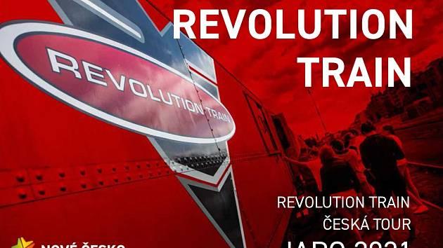 Do Ústí nad Labem přijel na dva dny protidrogový vlak Revolution Train.