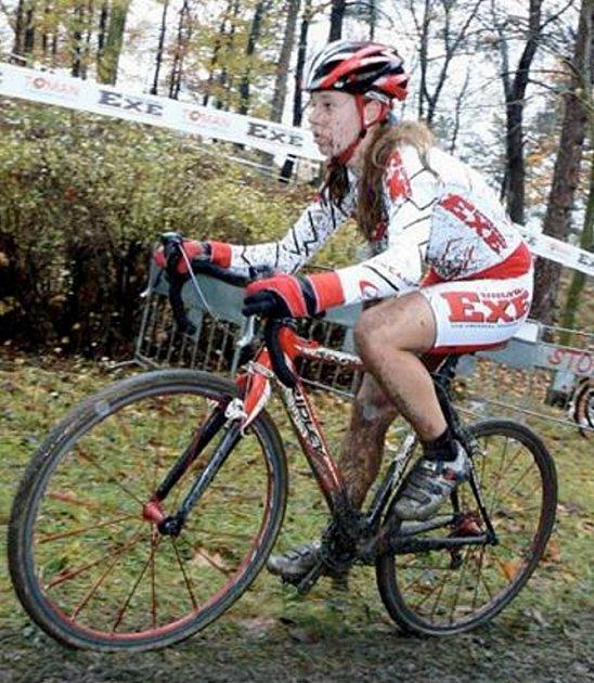 Talentovaná jirkovská cyklistka Martina Mikuláškova.