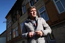 Místostarosta Vejprt Vlastimír Volín, který pomáhal se záchranou lidí z hořícího domova pro mentálně postižené.