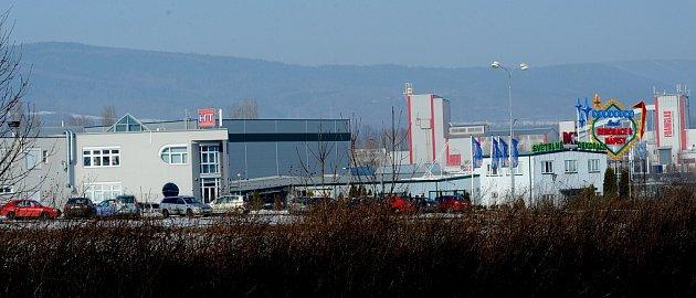 Průmyslová zóna Verne vKlášterci nad Ohří