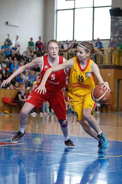 Anna Merhautová ve finále.