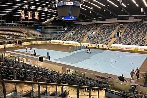 Chomutovská ROCKNET aréna se mění. V neděli se tady bude hrát házenkářská Liga mistrů. Mostecké hráčky vyzvou maďarský Györ.
