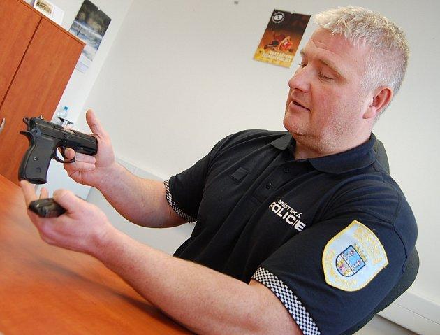 Tomáš Douda, ředitel městské policie v Chomutově.