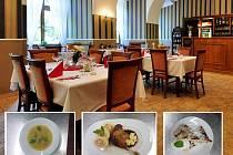 Svátečně protřené stoly a na nich pěkně vypečené svatomartinské husy. V zámecké restauraci na Červeném Hrádku už jsou na hosty připraveni.